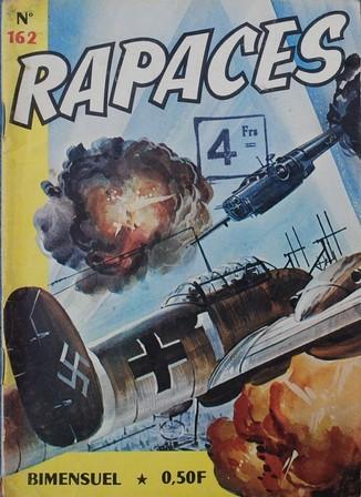 Couverture de Rapaces (Impéria) -162- Les canons de la gloire