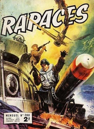 Couverture de Rapaces (Impéria) -280- Pilote d'essai