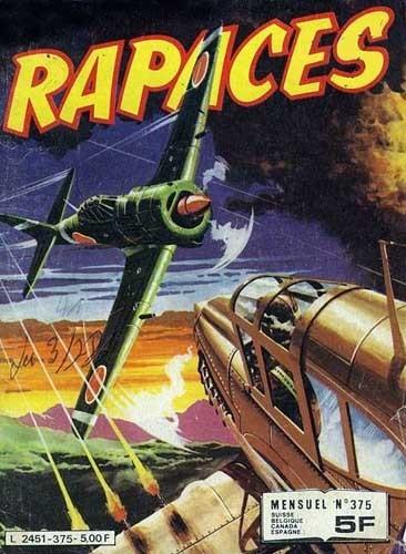 Couverture de Rapaces (Impéria) -375- L'avion fantôme