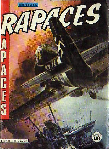 Couverture de Rapaces (Impéria) -399- Plein choc