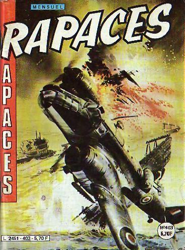 Couverture de Rapaces (Impéria) -403- Dette sacrée