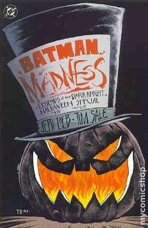 Couverture de Batman: Legends of the Dark Knight (1989) -HS2- Halloween special : Madness