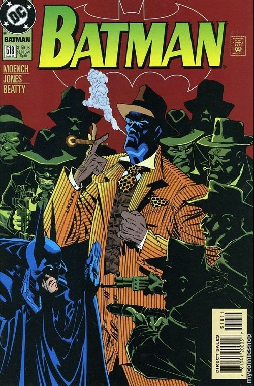 Couverture de Batman Vol.1 (DC Comics - 1940) -518- Batman