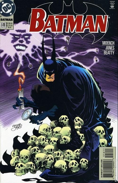 Couverture de Batman Vol.1 (DC Comics - 1940) -516- Sleeper Part One : Nightmares