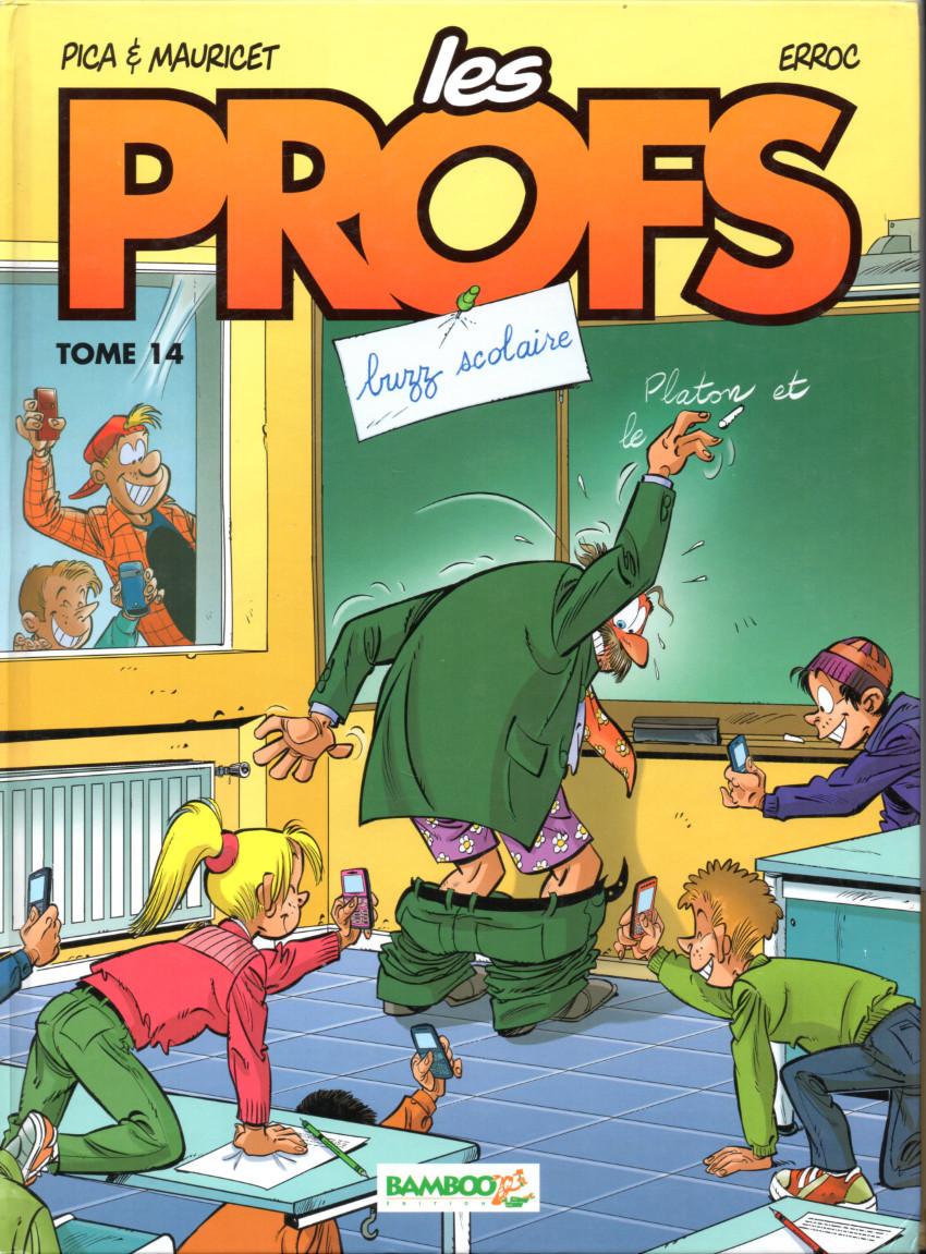 Couverture de Les profs -14- Buzz scolaire