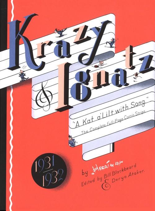 Couverture de Krazy & Ignatz (2002) -INT07- 1931-1932: A Kat a'lilt with Song