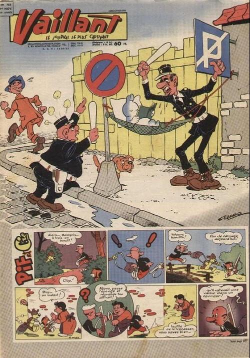 Couverture de Vaillant (le journal le plus captivant) -755- Vaillant