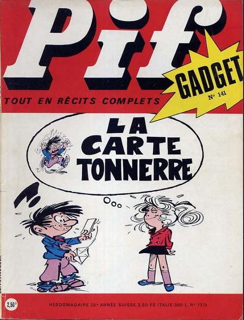 Couverture de Pif (Gadget) -141- Numéro 141