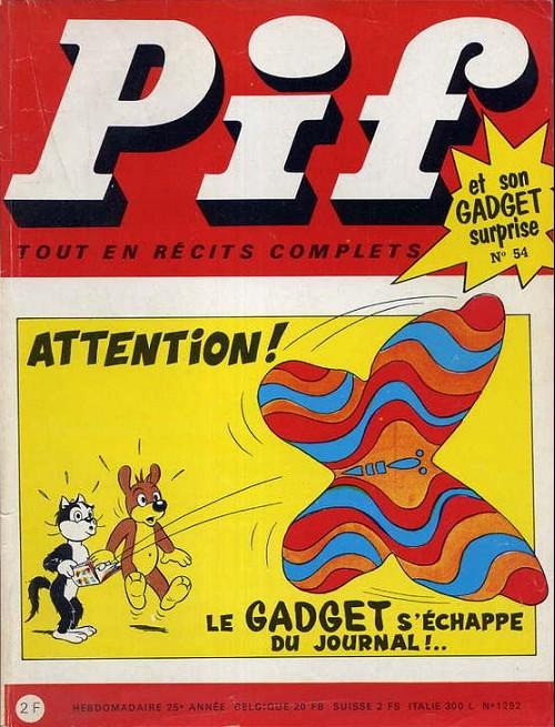 Couverture de Pif (Gadget) -54- Numéro 54
