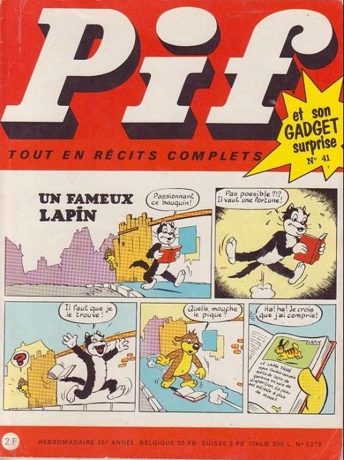 Couverture de Pif (Gadget) -41- Numéro 41