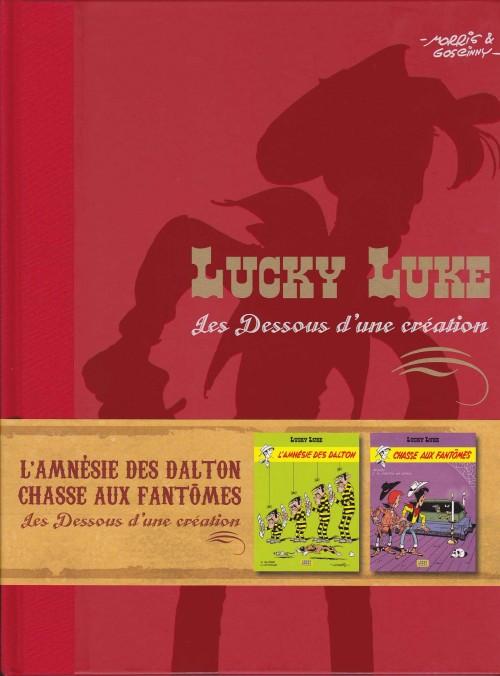 Couverture de Lucky Luke - Les Dessous d'une création (Atlas) -28- L'Amnésie des Dalton - Chasse aux Fantômes