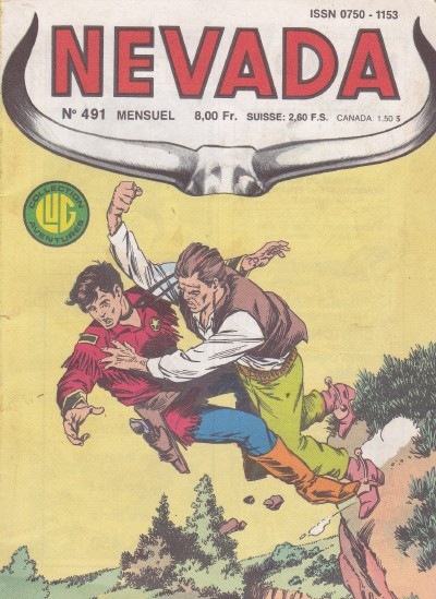 Couverture de Nevada (LUG) -491- Numéro 491