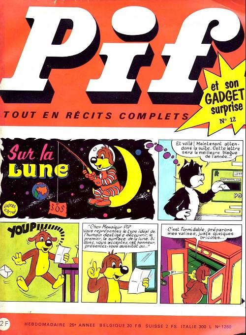 Couverture de Pif (Gadget) -12- Numéro 12