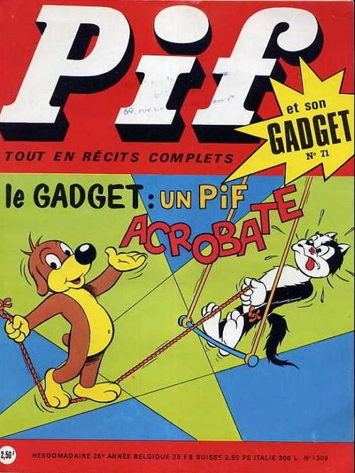 Couverture de Pif (Gadget) -71- Numéro 71