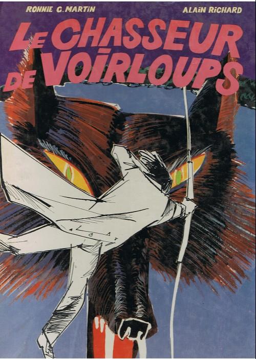 Couverture de Le chasseur de légendes -1- Le chasseur de Voirloups