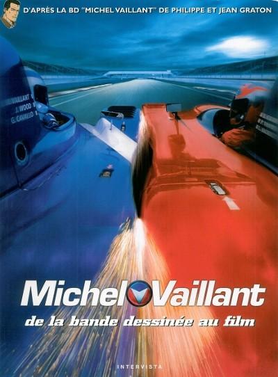 Couverture de Michel Vaillant -HS4- Michel Vaillant, de la bande dessinée au film