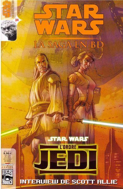 Couverture de Star Wars - BD Magazine / La saga en BD -34- Numéro 34