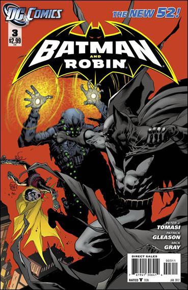 Couverture de Batman and Robin (2011) -3- Knightmoves