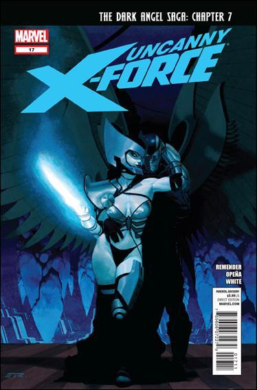 Couverture de Uncanny X-Force (2010) -17- Dark angel saga part 7 : opens a window
