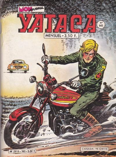 Couverture de Yataca (Fils-du-Soleil) -143- La chasse des hommes peints