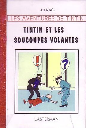 Couverture de Tintin - Pastiches, parodies & pirates - Tintin et les soucoupes volantes