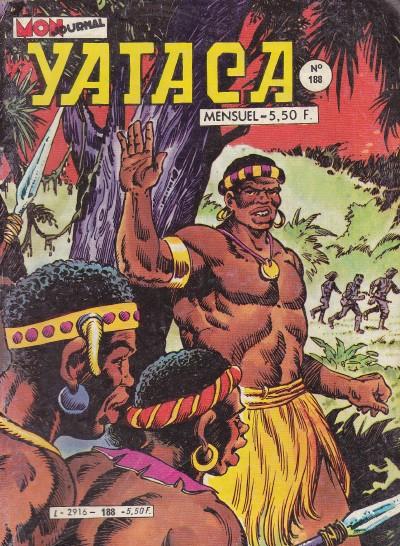 Couverture de Yataca (Fils-du-Soleil) -188- Faux et usage de faux