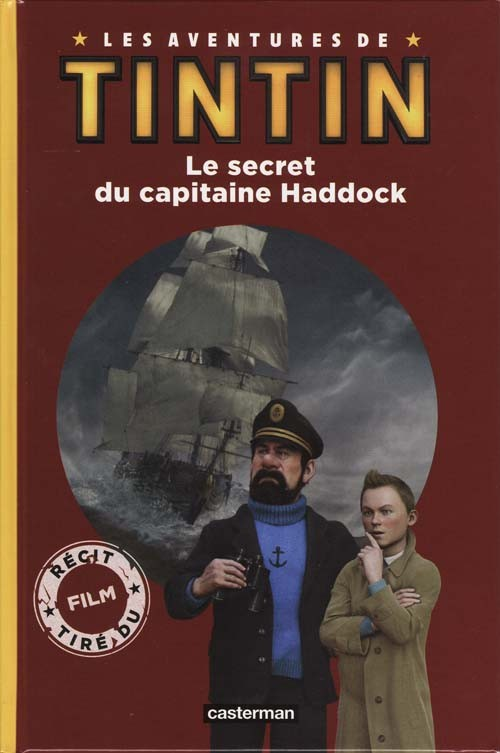 Couverture de Tintin - Divers -C4 2- Le secret du capitaine Haddock