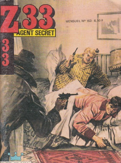Couverture de Z33 agent secret -163- Le hibou noir
