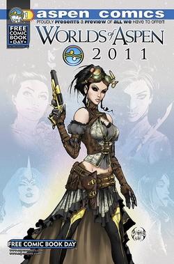 Couverture de Worlds of Aspen (2006) (Free Comic Book Day) -FCBD 2011- Worlds of Aspen 2011