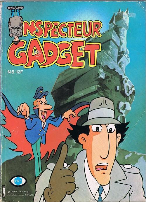 Couverture de Inspecteur Gadget (1re série - Greantori) -6- Le château hanté