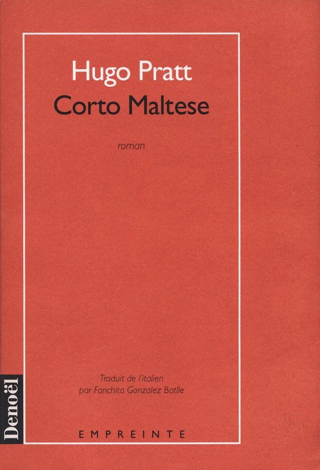 Couverture de Corto Maltese - Tome Roman