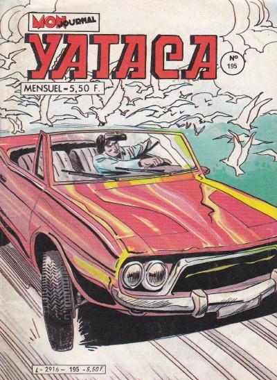 Couverture de Yataca (Fils-du-Soleil) -195- Les Dieux fous