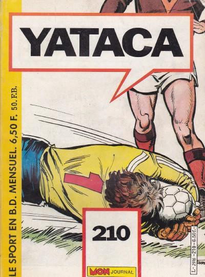 Couverture de Yataca (Fils-du-Soleil) -210- Juniors contre internationaux