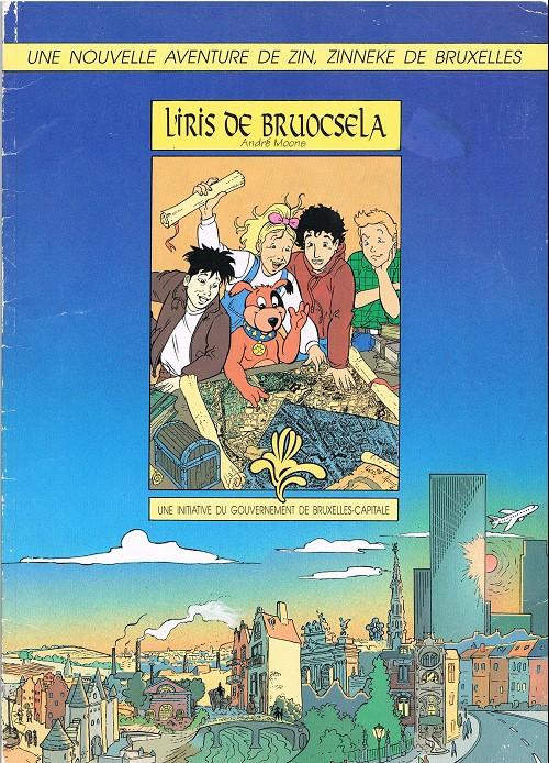 Couverture de Une nouvelle aventure de Zin, Zinneke de Bruxelles -1- L'iris de bruocsela