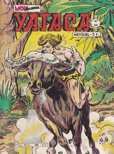 Couverture de Yataca (Fils-du-Soleil) -185- La réserve des gorilles