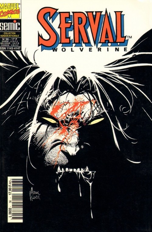 Couverture de Serval-Wolverine -36- Serval 36