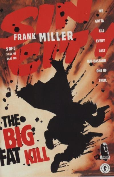 Couverture de Sin City: The Big Fat Kill -5- The Big Fat Kill (5/5)