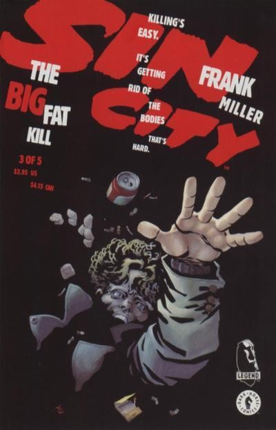Couverture de Sin City: The Big Fat Kill -3- The Big Fat Kill (3/5)