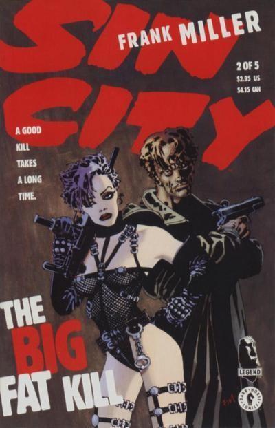 Couverture de Sin City: The Big Fat Kill -2- The Big Fat Kill (2/5)