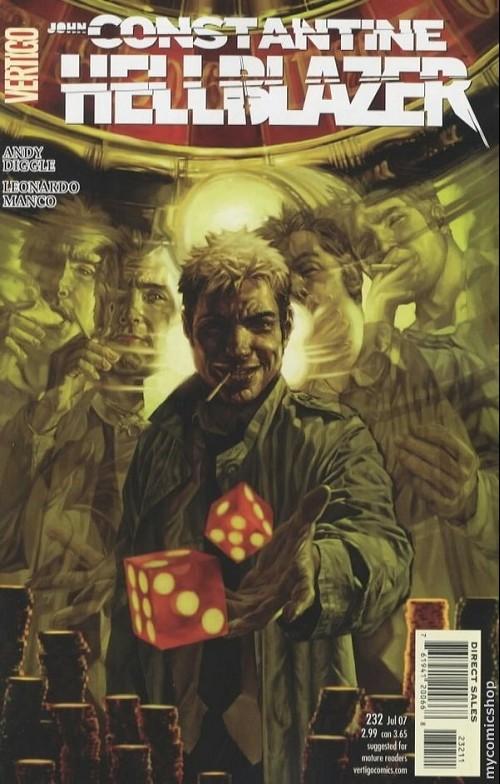 Couverture de Hellblazer (DC comics - 1988) -232- Wheels of Chance, Systems of Control