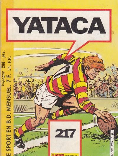 Couverture de Yataca (Fils-du-Soleil) -217- Gordon, meilleur buteur