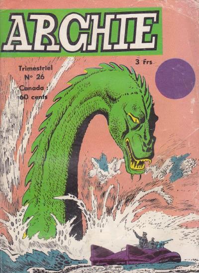 Couverture de Archie (Jeunesse et Vacances) -26- L'île maudite
