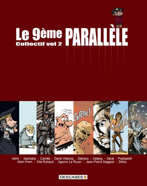 Couverture de Le 9ème parallèle -2- Vol 2