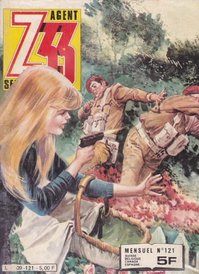 Couverture de Z33 agent secret -121- Diable SS