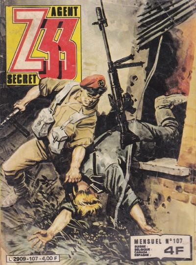 Couverture de Z33 agent secret -107- Un train pour l'enfer