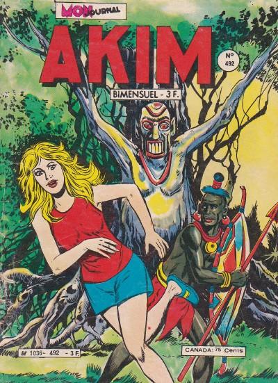 Couverture de Akim (1re série) -492- Les rapaces de la colline chauve