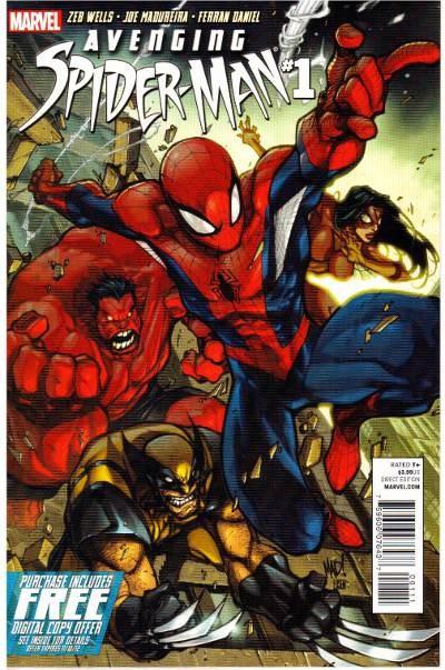 Couverture de Avenging Spider-Man (2012) -1- Issue 1