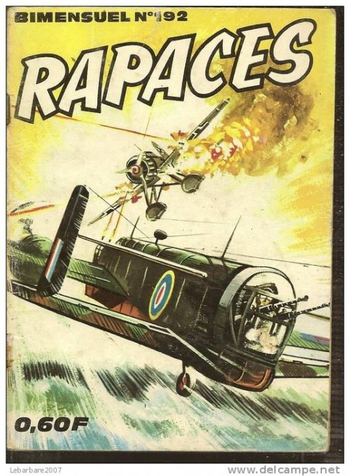 Couverture de Rapaces (Impéria) -192- Le traître
