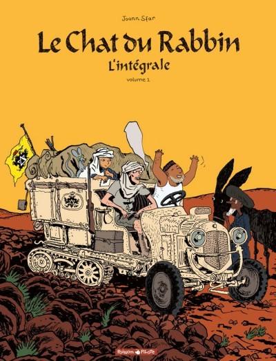 Couverture de Le chat du Rabbin -INT02- L'intégrale - Volume 2
