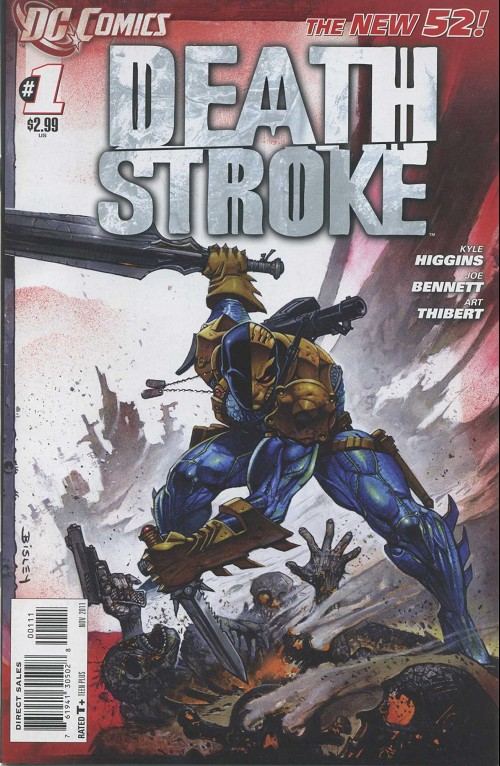 Couverture de Deathstroke (2011) -1- Back to basics